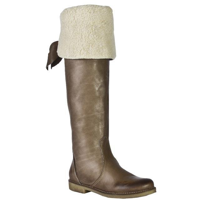 Knee High Boots VENEZIA - 201 SAVAGE TAUPE Brown