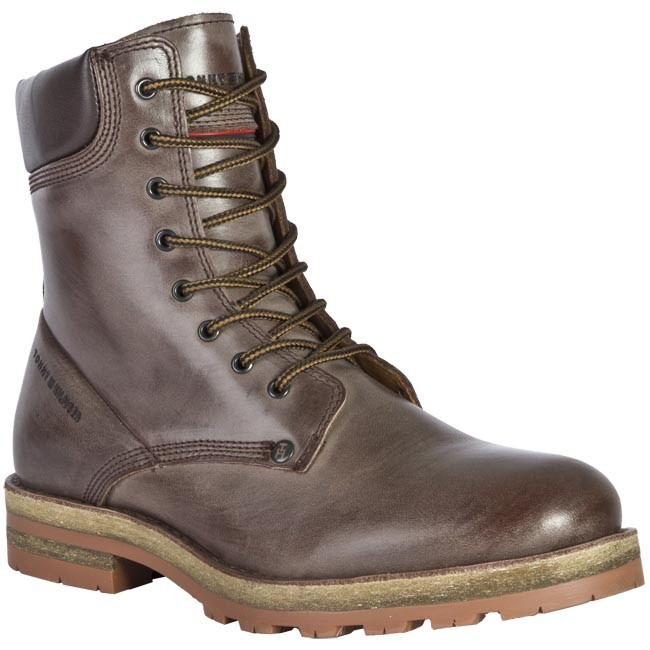 Boots TOMMY HILFIGER - FM86813022 201 Brown