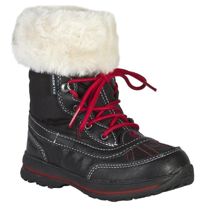 Snow Boots GEOX - J1311C 0FU54 C9999 Black