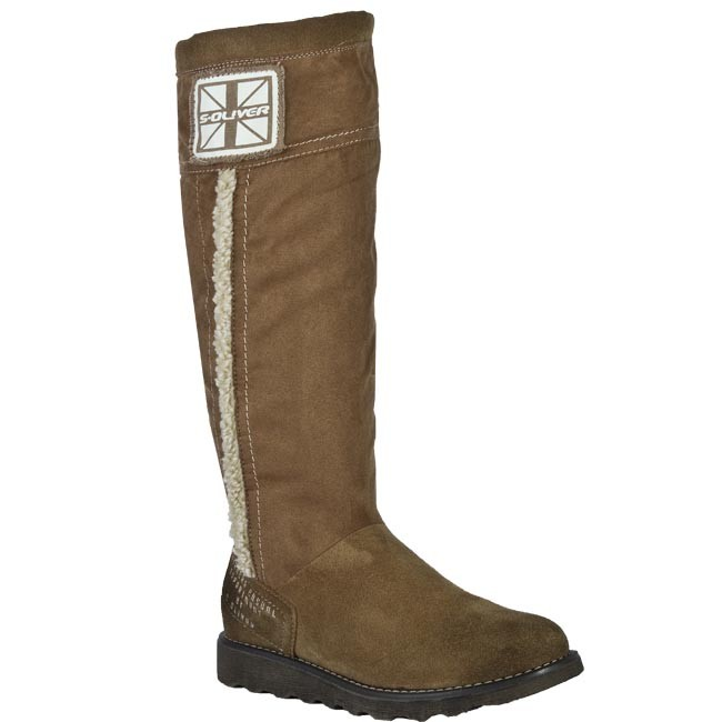 Knee High Boots S.OLIVER - 5-26606-27 Cognac