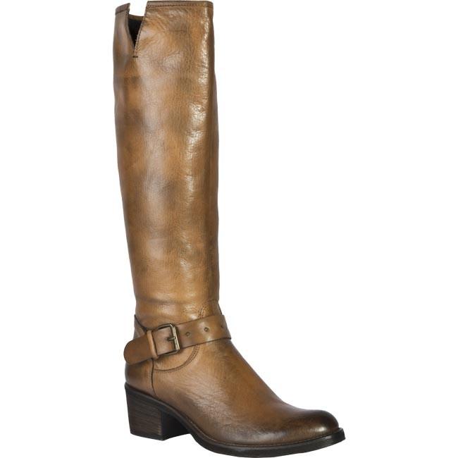 Knee High Boots VENEZIA - 5003 Vacchetta Cuoio Brown