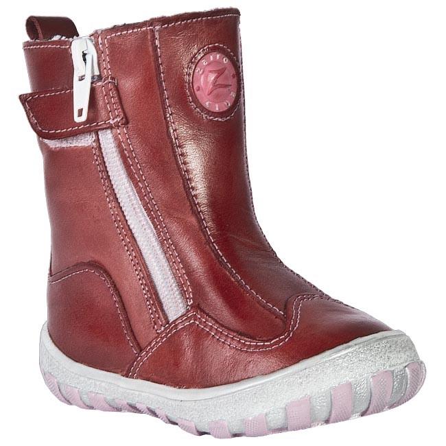 Knee High Boots ZARRO - 953/11 Red