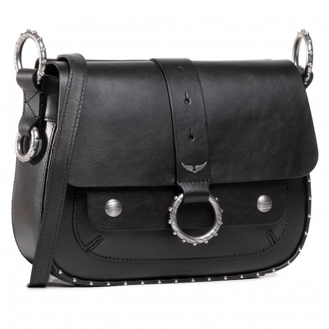 Handbag ZADIG&VOLTAIRE - Kate Smooth Calfskin SJAV2001F Noir