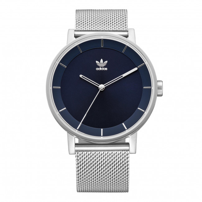 Wristwatch adidas - District M1 Z042928-00 Silver/Navy Sunray