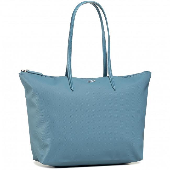 Handbag LACOSTE - Calcaire NF1888PO  Polyvinyl Chloride
