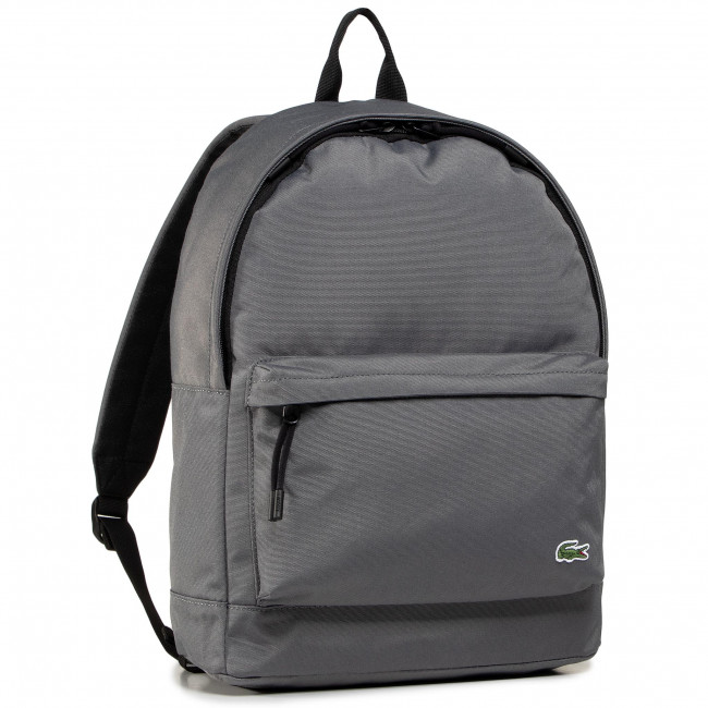 Backpack LACOSTE - Backpack NH2677NE Smoked Pearl Noir F48