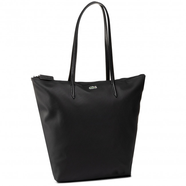 Handbag LACOSTE - Vertical Shopping Bag NF1890PO  Black 000
