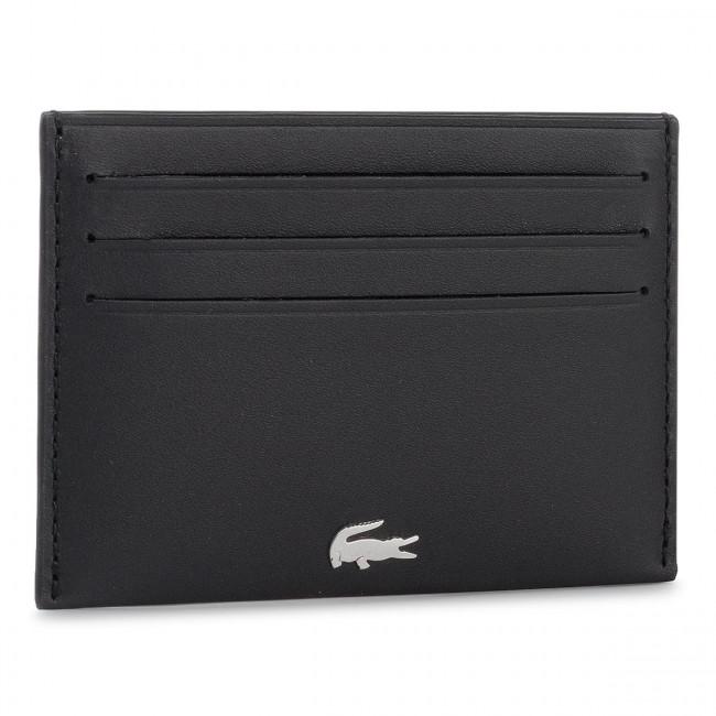 Credit Card Holder LACOSTE - Credit Card Holder NH1346FG Black 000