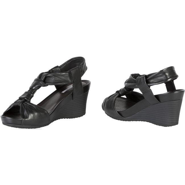 Sandals GEOX D Roxy Q D2296Q 00006 C9999 Black