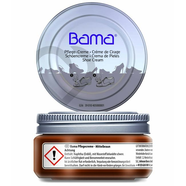Shoe Cream BAMA - G56 Średni Brąz