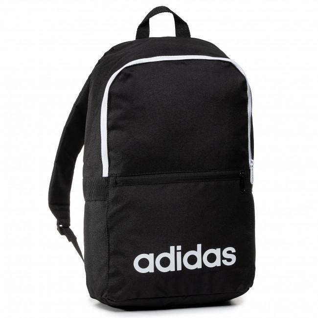 Backpack adidas Lin Clas Bp Day DT8633 BlackBlackWhite