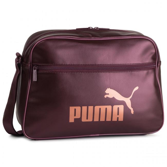 Bag PUMA Core Up Reporter 076735 03 Vineyard WineMetalic