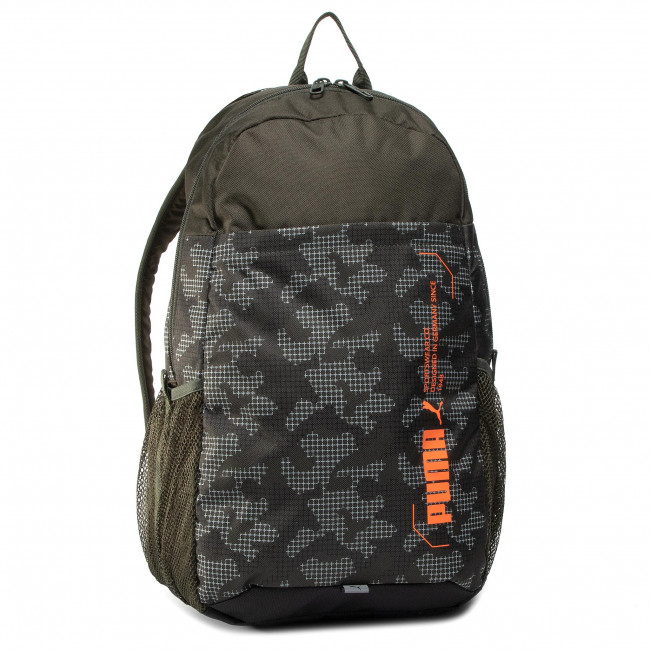Backpack PUMA - Style Backpack 076703 07 Forest Night/Camo Aop
