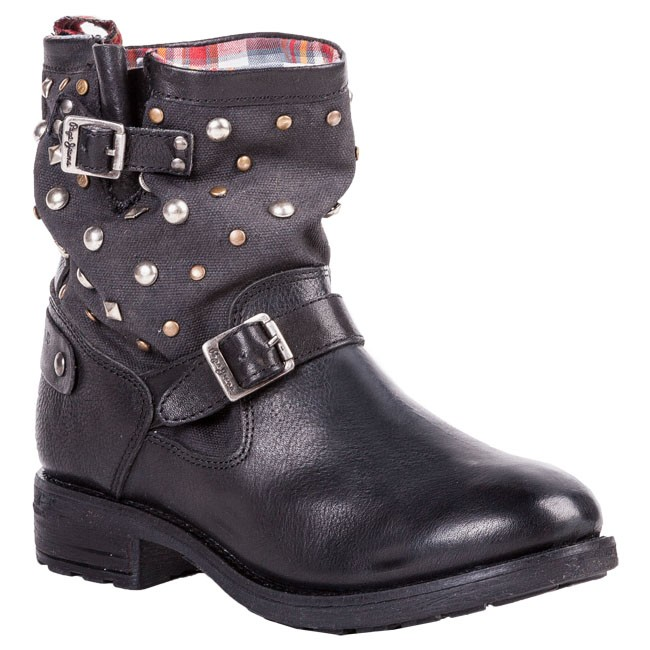 Boots PEPE JEANS - PFS50244 999 Black
