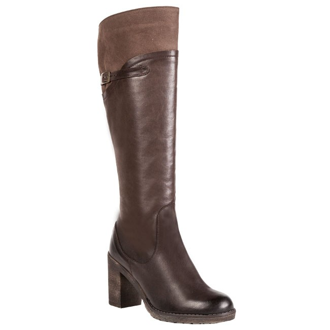 Knee High Boots LAURA MESSI - 669 379 375 Brown