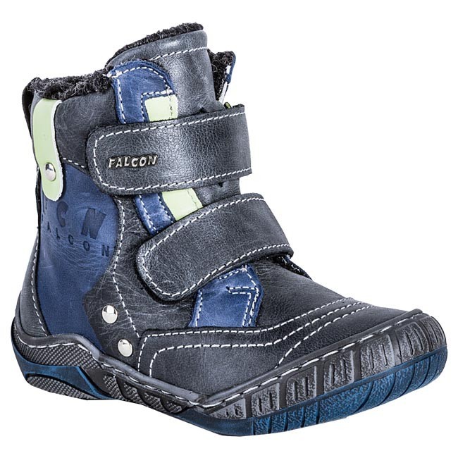 Boots FALCON - 3345 Blue Grey