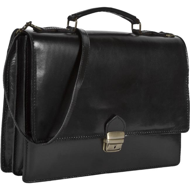 Men's Briefcase CREOLE - RBi7003 / RBI-IT 2 Black