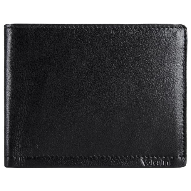 Large Men's Wallet VALENTINI - 169-320 Black