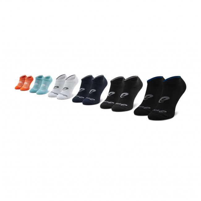 6 Pairs of Men\'s Low Socks ASICS - 6 PPK Invisible Sock 135523V2 Multicolors 800