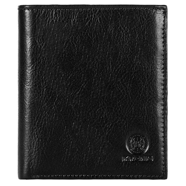 Large Men's Wallet KRENIG - 12065 Black