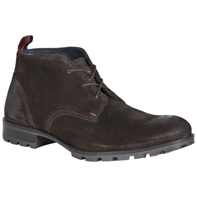 Boots TOMMY HILFIGER - FM56815049 212 Brown