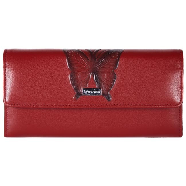 Large Women's Wallet VALENTINI - 124-285 Red
