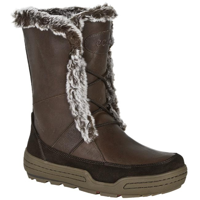 Snow Boots ECCO 85252352407 Brown