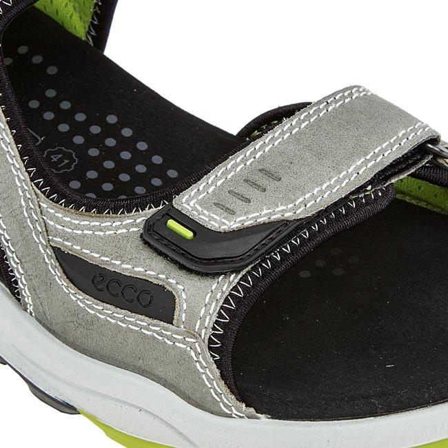 Sandals ECCO Biom Terrain Sandal 82504457920 Wild Dove Lime Punch
