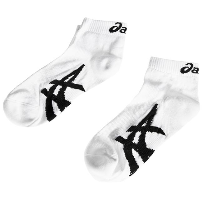 2 Pairs of Men\'s Low Socks ASICS - 2PPK 1000 SERIES ANKLE SOCK 0001 43/46