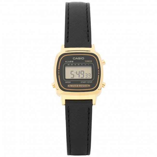Wristwatch CASIO - LA-670WEGL -1EF Black/Gold
