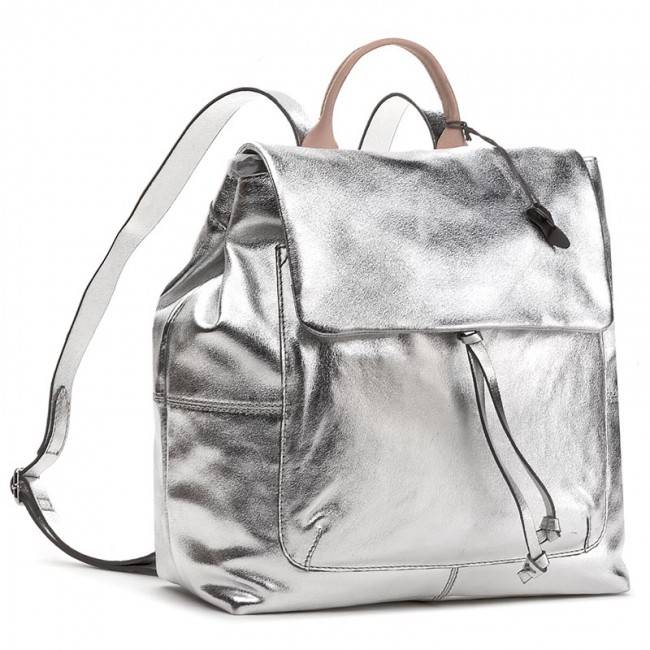 genuine shoes attractive price buying now Backpack CLARKS - Totterdown Bay 261295470 Metallic Leather
