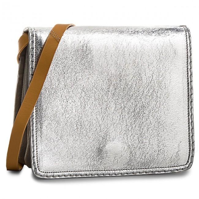 Handbag CLARKS - Teddington Way 261337200  Silver Combi