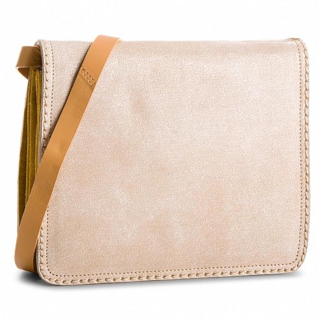 Handbag CLARKS - Teddington Way 261339310 White Combi Leat