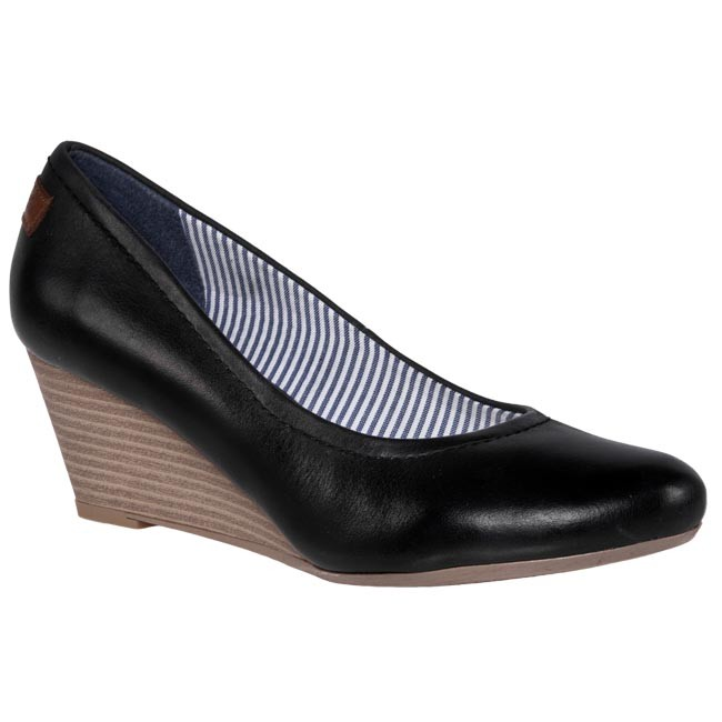 Shoes TOM TAILOR 0612091010000 Black