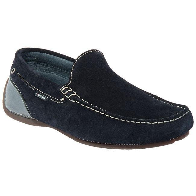 Shoes TOMMY HILFIGER - Lemans Slip On B FM5BS00216 Blue