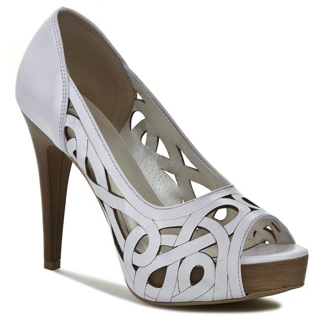 Stilettos R.POLAŃSKI - 0593 White