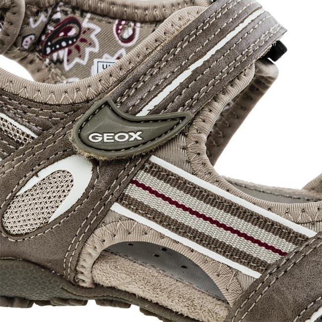 Sandals GEOX D1125C 05415 C6029 Khaki Casual sandals