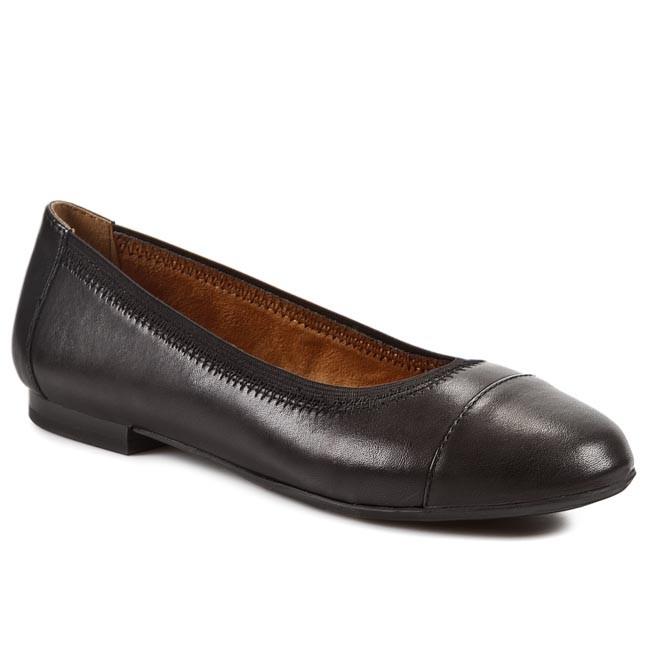 Flats CAPRICE - 9-22101-27/1 Black 001