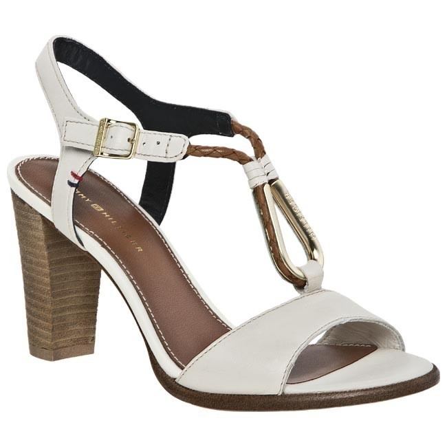 Sandals TOMMY HILFIGER - FW56815494 Whisper White 121