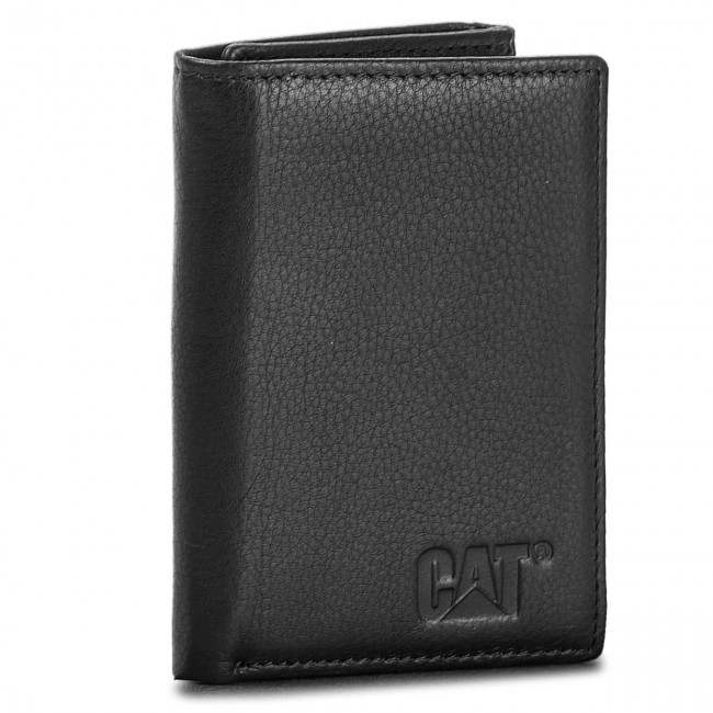 Large Men's Wallet CATERPILLAR - Petoskey 80600 Black 80