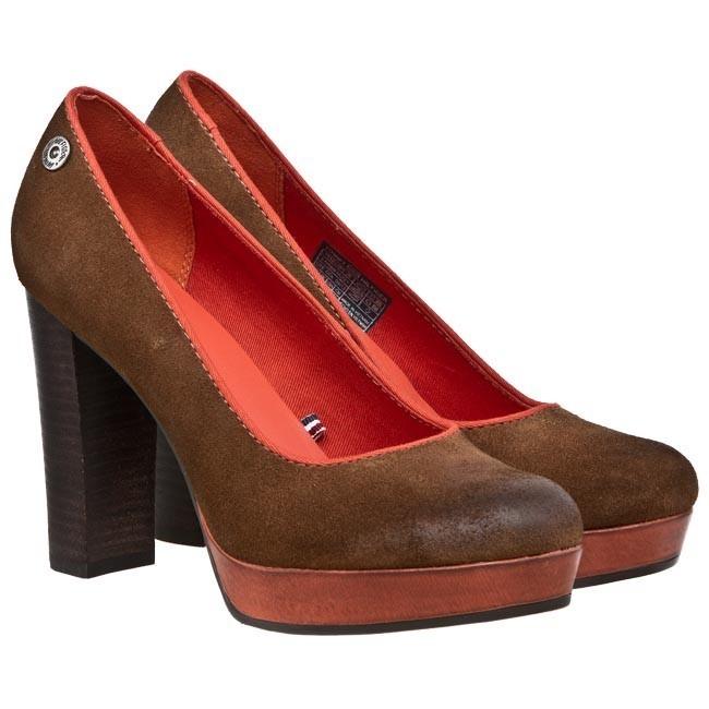 high heels tommy hilfiger denim penelope 2b en56816221. Black Bedroom Furniture Sets. Home Design Ideas
