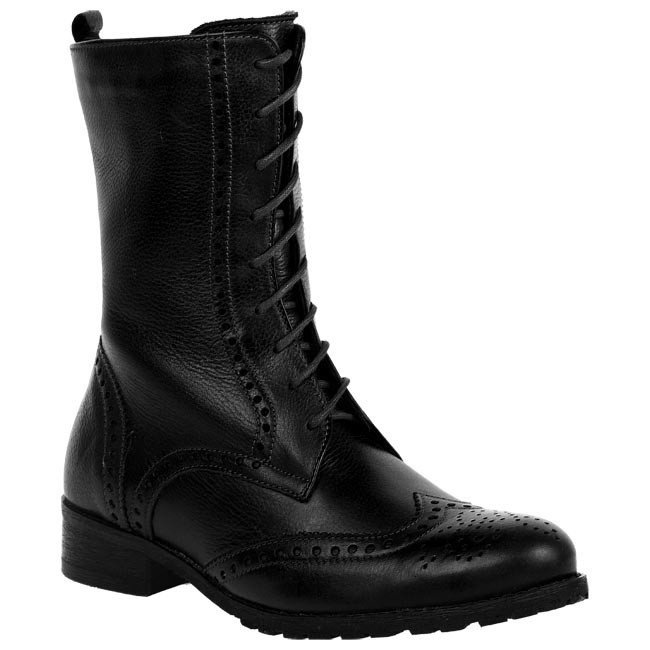Boots LAN-KARS - A5112-1-RD Black - Boots - High boots and others ...