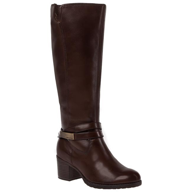 Knee High Boots TAMARIS 1 25539 21 Cafe 361