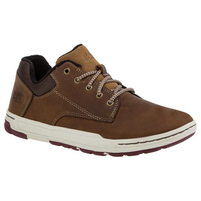 Shoes CATERPILLAR - P716677 Dark Beige