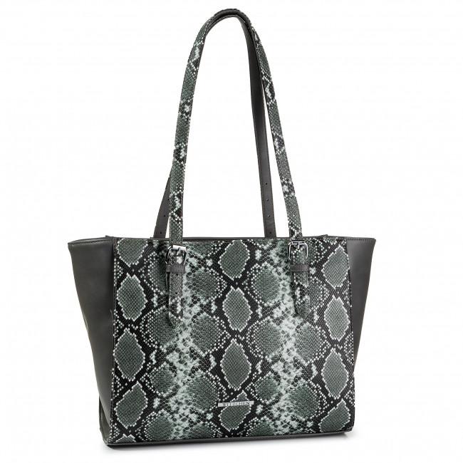 Handbag WITTCHEN - 89-4Y-409-8 Green Grey