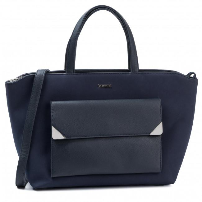 Handbag WITTCHEN - 89-4Y-550-7 Navy Blue