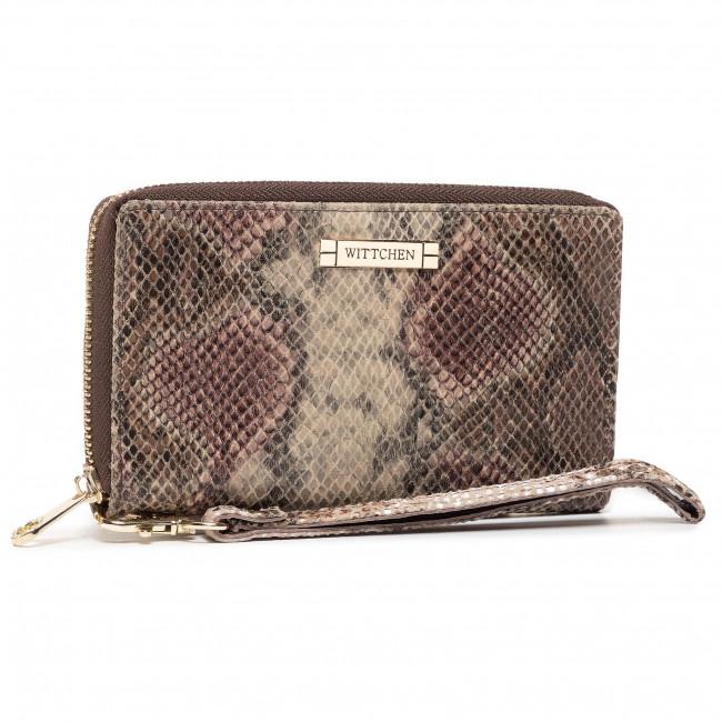 Large Women's Wallet WITTCHEN - 26-1W-428-4P Brown