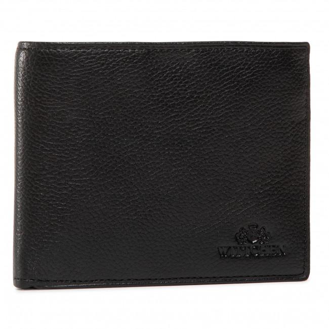 Large Men's Wallet WITTCHEN - 02-1-040-1L Black