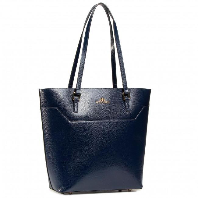 Handbag WITTCHEN - 91-4-700-7 Navy Blue