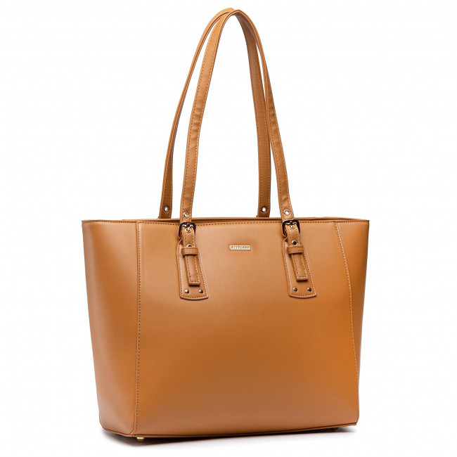 Handbag WITTCHEN - 92-4Y-610-50 Brown